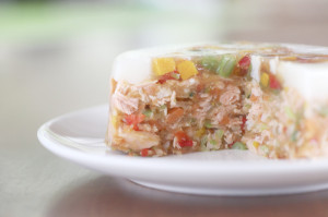 ディナーケーキ(お魚:サーモン)