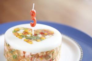 お祝いケーキ(写真はSサイズ)