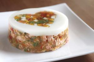 ディナーケーキ(お魚:サーモン)Sサイズ